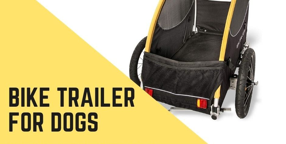 Best Pull Behind Bike Trailer for Dogs